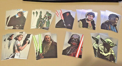 Star Wars - Galaxy Series 5 - Chase Silver Foil Card BULK LOT of 19 - 2010 - NM