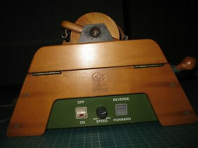 Ashford E-Spinner Electronic Spinning Wheel with Power Cord
