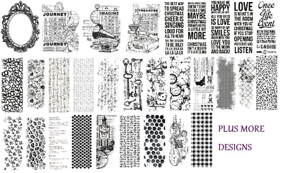 Kaisercraft - Clear Stamps - Various Designs