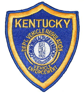 KENTUCKY – VEHICLE REGISTRATION ENFORCEMENT – KY Police Sheriff Patch STATE SEAL