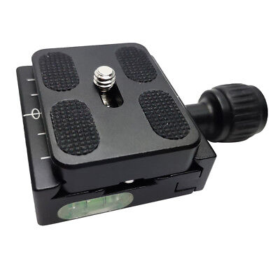50mm QR-50 Square Clamp Adapter + PU50 Quick Release Plate For Arca Swiss Tripod
