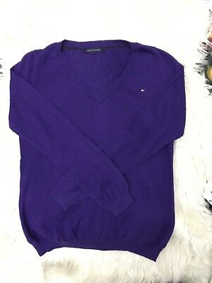 New Kids Tommy Hilfiger V Neck Knitted Jumper Size S(7/8) And M(8/10)