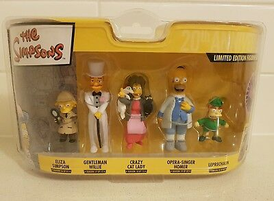 The Simpsons Limited Edition Figurine Collection 11-15 Rare Collectables MINT