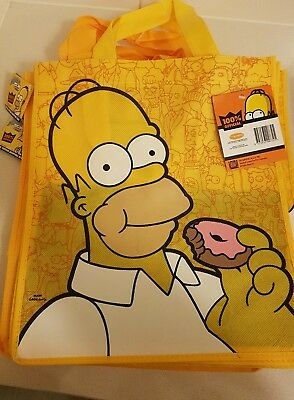The Simpsons Shopping Tote Bag New  3 bags for $40