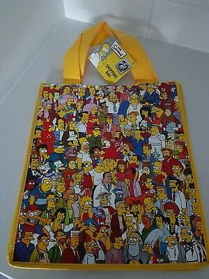 The Simpsons Shopping Tote Bag Brand New Rare Collectable 3