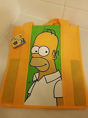 The Simpsons Shopping Tote Bag Brand New Rare Collectable Homer special edition
