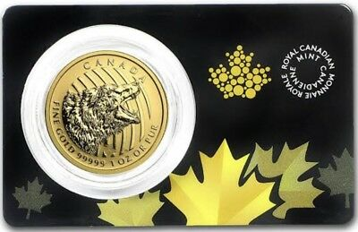 2016 Grizzly Bear gold bullion nugget 1 oz (Mint condition)