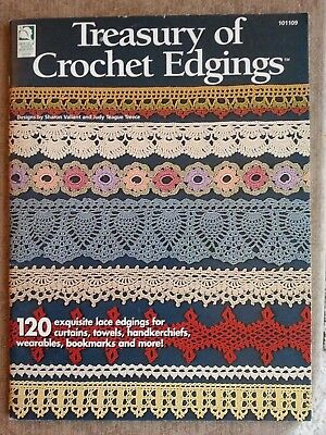 Treasury Of Crochet Edgings 120 Exquisite Lace Edging Patterns