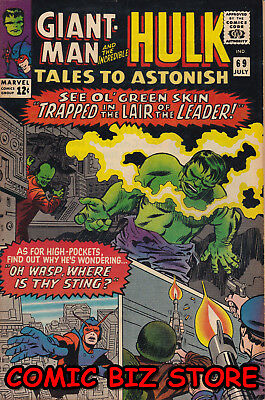 Tales To Astonish #86 (1965) 1St Print Silver Age Marvel Fn 6.0 Last Giant Man