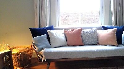 Vintage Retro Mid Century Ercol Day Bed Studio Couch and matching Rocking Chair