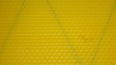 10X Modified Dadant Shallow Foundation - (Wired) - Beeswax  - Bee Hive - M.d
