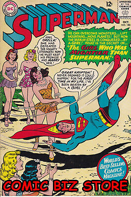 Superman #180 (1965) 1St Printing Silver Age Dc Fn 6.0 Bagged & Boarded