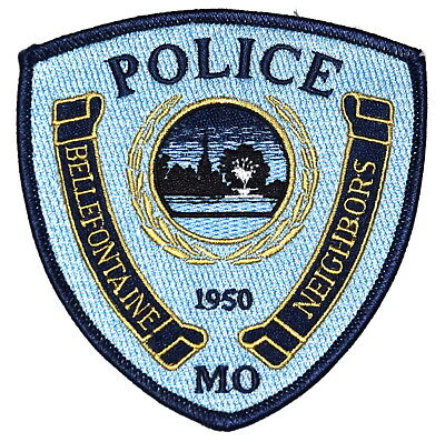 BELLEFONTAINE NEIGHBORS MISSOURI MO Police Sheriff Patch CHURCH STEEPLE ~