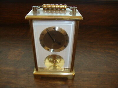 Vintage Schatz 8 Day Carriage Clock West Germany