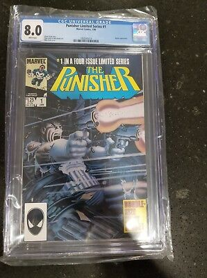 The Punisher: Limited #1 CGC 8.0