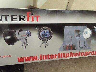 Home studio flash kit interfit ex150