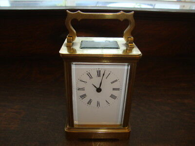 #2 Antique Brass Carriage Clock