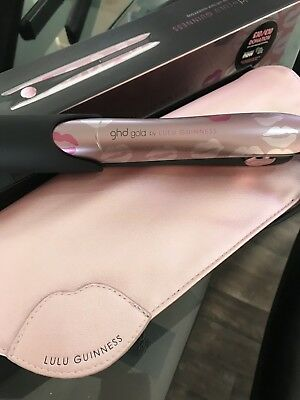 ghd hair straighteners gold By lulu Guinness