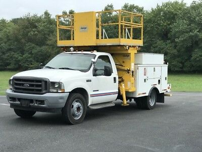 2002 Ford Other Pickups  2002  FORD F450  7.3 TURBO DIESEL AERIAL PLATFORM 1500 LB Capacity