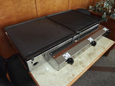 Commercial CATERING VAN- CAST IRON 80x40 cm - LPG Gas-Griddle