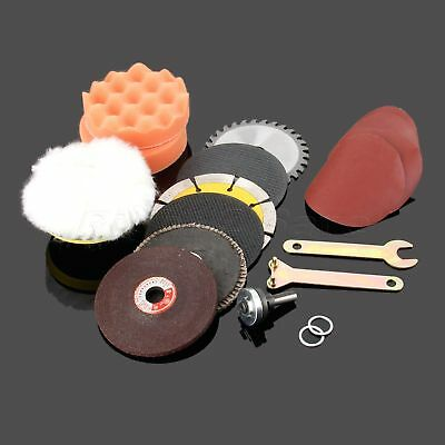 Electric Drill Cutting Metal Wood Stone Grinding Polishing Saw Blades Disc R2S