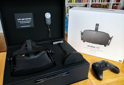 Oculus Rift Virtual Reality Headset + XBOX One Wireless Controller + OVP