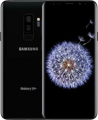 New Samsung Galaxy S9+ 64GB Midnight Black Onyx GSM Unlocked