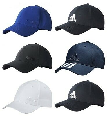 Adidas Mens Womens Baseball Cap 6 Panel Sports Golf Running Training Hat