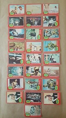 1977 Star Wars Series 2 Red Card Set
