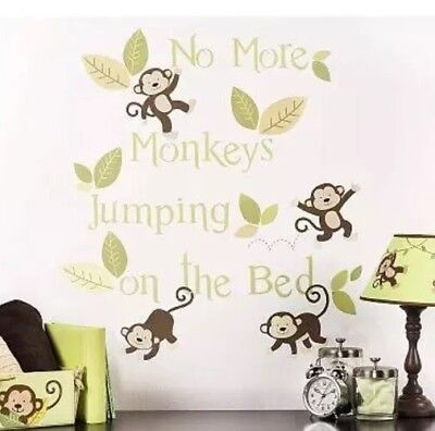 Little Boutique Monkey Wall Decals