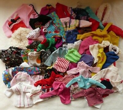 "Massive job lot of 11"" dolls clothes some vintage - fits Sindy Barbie Steffi"