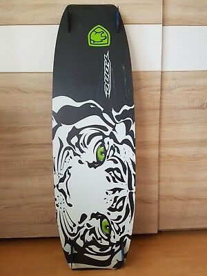 Kiteboard F.ONE Style, Wood-Core, Full Carbon 130x39 cm