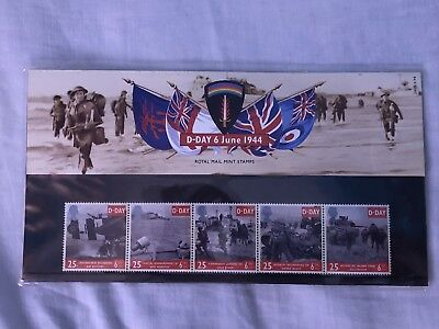 Commemorative D-Day 6th June 1944 Stamps