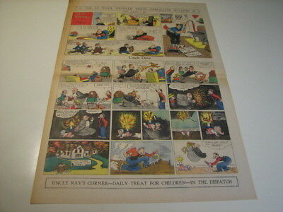Dave's Delicatessen by Milt Gross - Jan 7, 1934 - full-size Sunday Comic Page