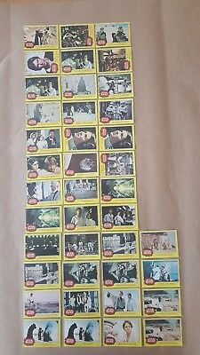 1977 Star Wars Series 3 Yellow Card Set