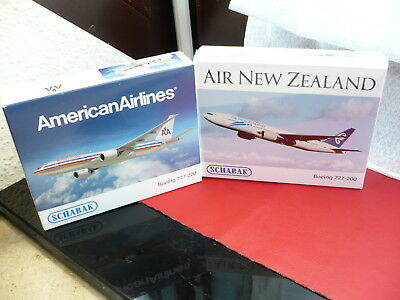 Schabak - 2 x Boeing 777- 200 /  American Airlines + New Zealand  /  1:600