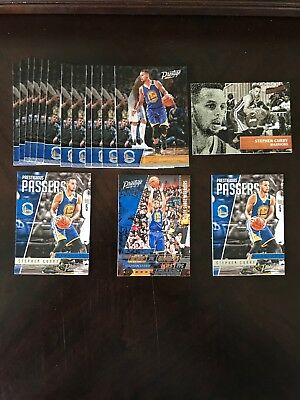 Steph Curry Lot Of Cards Golden State Warriors
