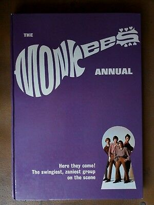 The MONKEES Annual 1967 RARE Good Condition VINTAGE Book Not Clipped MUSIC