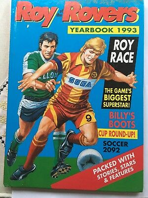 Roy Of The Rovers Yearbook 1993