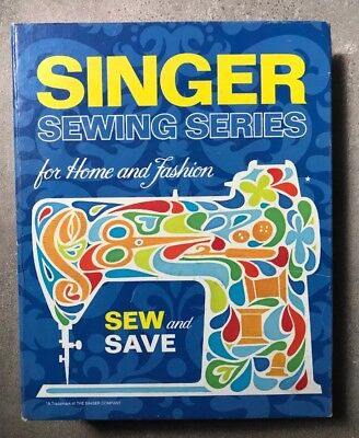 Singer Sewing Series Instructional Binder 1972 Great how to book.