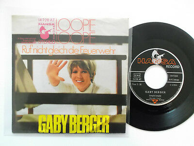 Gaby Berger / Loopie Loopie, Single !!!