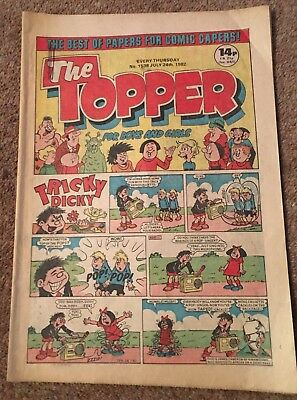 The Topper Comic - Issue 1538 - 24Th July 1982