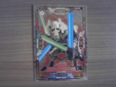 LEGO STAR WARS Serie 1 LIMITIERT STOLZER GENERAL GRIEVOUS LE14 Trading Card