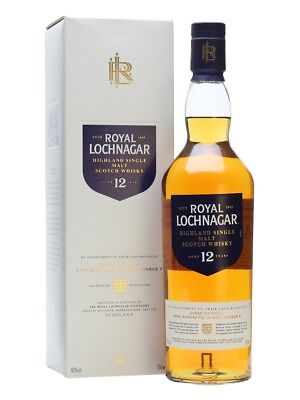 Royal Lochnagar12 Jahre Whisky Scotch Single Malt Neu 0,7l