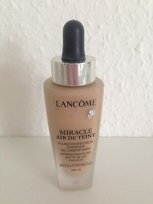 Lancome Miracle Air De Teint Foundation Spf 15 Farbe 01