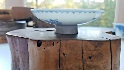 Antique Guangxu Mark and Period Chinese Blue and White Bowl