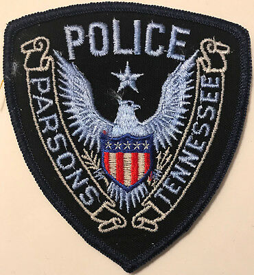 Parsons Tennessee TN Police Sheriff Patch
