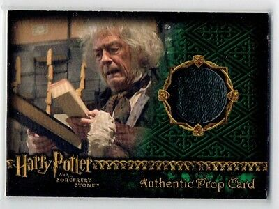 Harry Potter and the Sorcerer's Stone Wand Box Prop Card HP #522/842