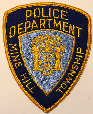 Mine Hill Township Morris County New Jersey NJ Police Sheriff Patch