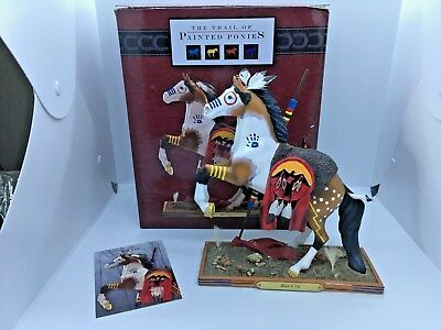 War Cry - Trail of the Painted Ponies horse figurine - 2E/3754 - With box & tag
